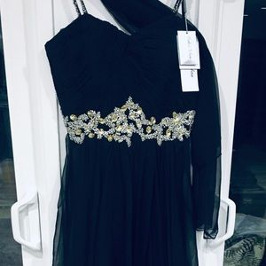 Brand new size 12 back format long gown